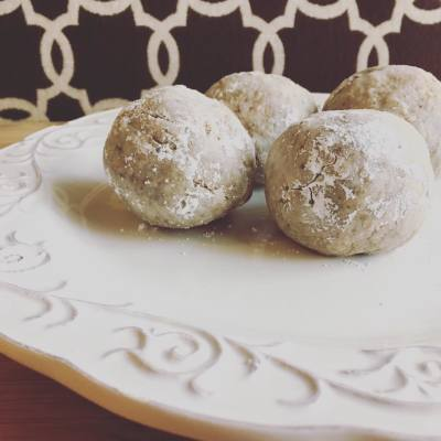 Superfood Russian Teacakes